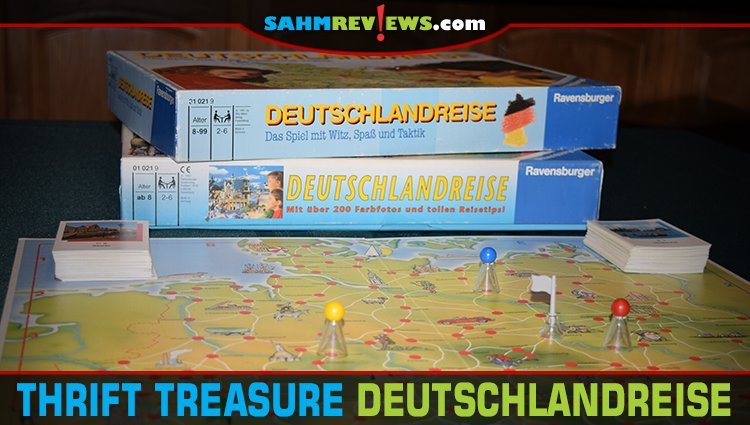 Thrift Treasure: Deutschlandreise Board Game