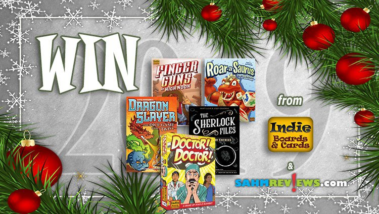 Holiday Giveaways 2019 – Five Game Prize Package by Indie Boards & Cards