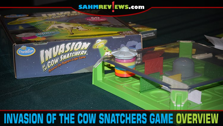 Invasion of the Cow Snatchers Puzzle Game Overview