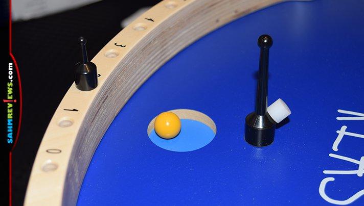 KLASK 4 is a 4-player version of the hit KLASK dexterity game. - SahmReviews.com