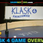 KLASK 4 is a 4-player version of the hit dexterity game, KLASK. - SahmReviews.com