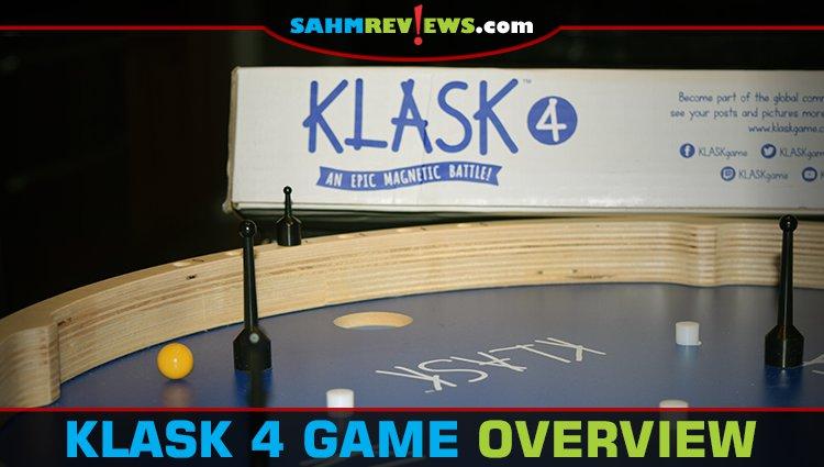 KLASK 4 Dexterity Game Overview