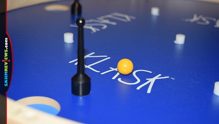 KLASK 4 is a 4-player version of the hit dexterity game, KLASK. - SahmReviews.com