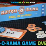 Match-O-Rama by TheOp (USAopoly) is like an at-home game show where you score based on whether you can match your opponents. Read the overview for details! - SahmReviews.com