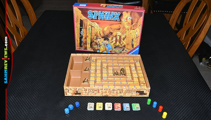 This thrift copy of Ravensburger's Sphinx hadn't ever been assembled or played! Find out what the original owners missed out on! - SahmReviews.com