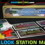 There's still time to get on board with Calliope Games' Station Master Kickstarter campaign. Find out why we think you should upgrade to Executive Class! - SahmReviews.com