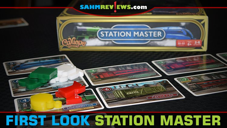 First Look: Station Master Card Game