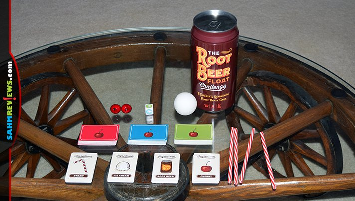 Playing a game together on Christmas Eve is our family's holiday tradition. This year we'll be playing The Root Beer Float Challenge by Playtacular! - SahmReviews.com