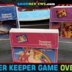 Big G Creative brought the 80's back to life with Trapper Keeper Game! Try to earn the most points by stashing school papers in the retro-inspired folders! - SahmReviews.com