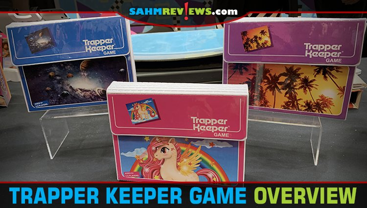 Trapper Keeper Card Game Overview