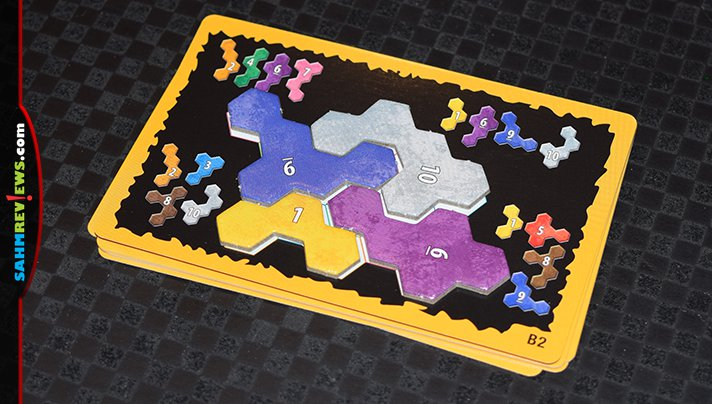 While other games concentrate on polyominos, Ubongo! Extreme by Kosmos features groups of hexes! Find out what's been changed from the original Ubongo! - SahmReviews.com