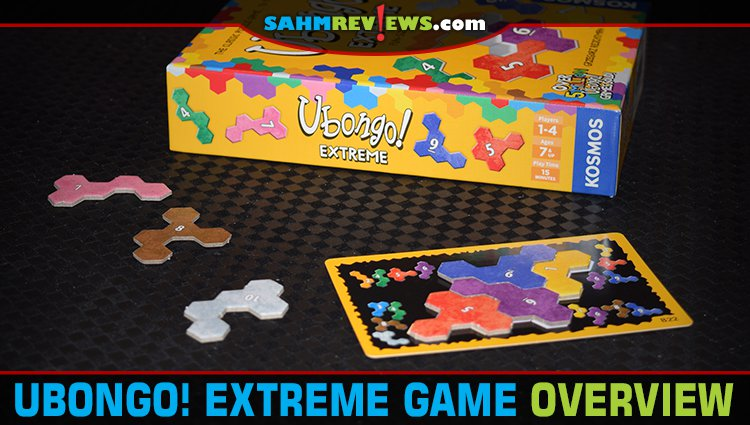 Ubongo! Extreme Puzzle Game Overview