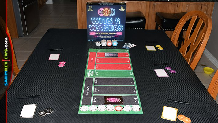 """Wits & Wagers by North Star Games has been on the market for a while, but this new """"It's Vegas Baby!"""" edition might be the best one yet! Keep reading at SahmReviews.com"""
