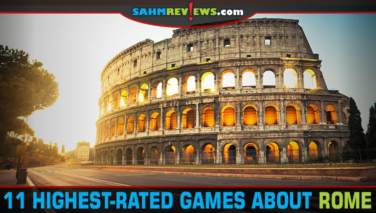 11 Highest-Rated Board Games Set in Rome