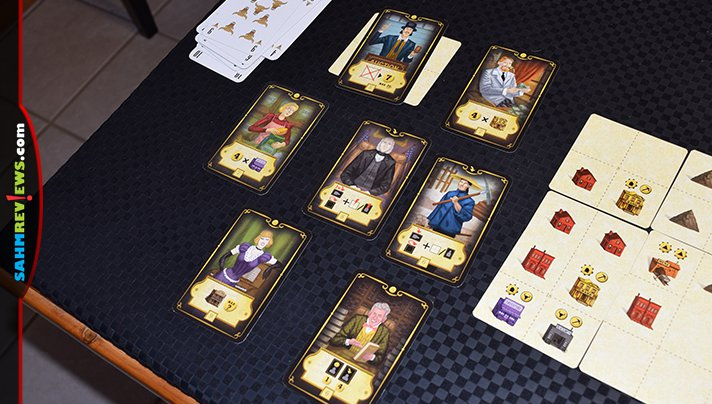 Carson City The Card Game from Quined Games is a scaled down version of its namesake Euro game. - SahmReviews.com