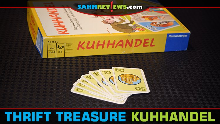 Thrift Treasure: Kuhhandel Card Game