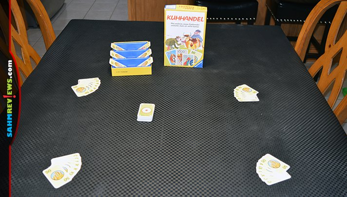 We had to travel all the way to Florida to find this German language game by Ravensburger. Find out what Kuhhandel is all about! - SahmReviews.com