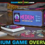 You don't have to be a mind-reader to play Greater Than Games' Medium party game, but it wouldn't hurt. Read our Medium game overview to learn how to play. - SahmReviews.com