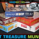 We almost couldn't believe it. FIVE different versions of Munchkin at our Goodwill at the same time. Needless to say, they're no longer there! - SahmReviews.com