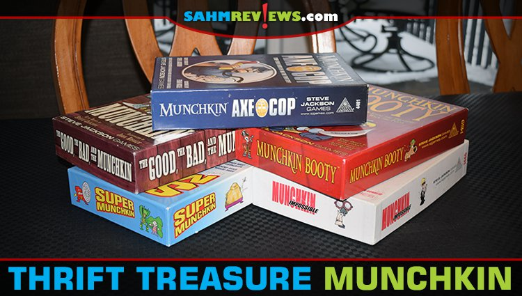 Thrift Treasure: Five Different Munchkin Games