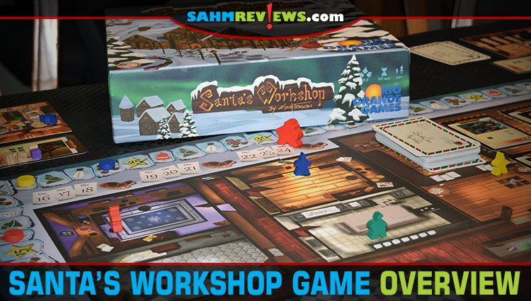 Santa's Workshop Board Game Overview