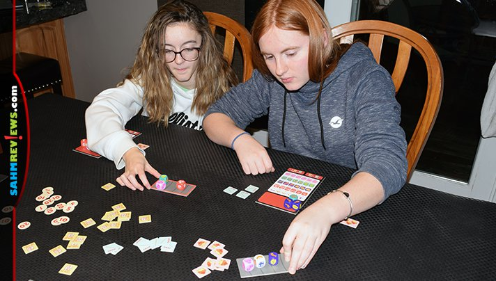 The follow-up to Sushi Go!, Sushi Roll, is better than the original in our opinion! We've always loved dice games and will show you why you need a copy too! - SahmReviews.com