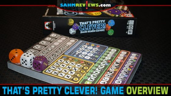That's Pretty Clever and Twice as Clever Dice Game Overview