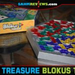 The collection is finally complete! We found this copy of Blokus Trigon, but it was missing a piece. Thanks to a friend, we had the perfect solution! - SahmReviews.com