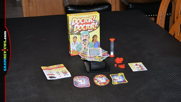 It's fair to say this is a modern take on the classic game of Operation. Doctor! Doctor! by Indie Boards & Cards even manages to do away with the batteries! - SahmReviews.com