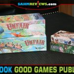 Our first look at Good Games Publishing includes Fairy Season, Unfair and Fluttering Souls which range from a light card game to one with more depth. - SahmReviews.com