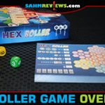 Roll the dice, fill in the spaces, connect the numbers and try to earn the most points in Hex Roller from Renegade Game Studios. - SahmReviews.com