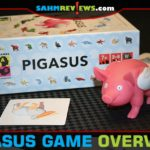 You may not see oddly matched creatures in real life, but you'll want to be quick to spot the matches in Pigasus from Brain Games Publishing! - SahmReviews.com
