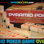How would you play Poker without cards? Pyramid Poker by R&R Games does just that - and with wooden blocks! Read more about this great 2-player game! - SahmReviews.com