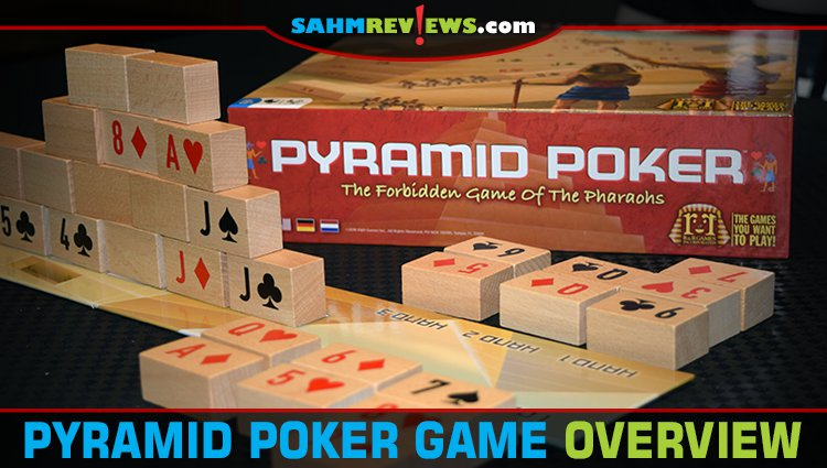 Pyramid Poker 2-Player Game Overview