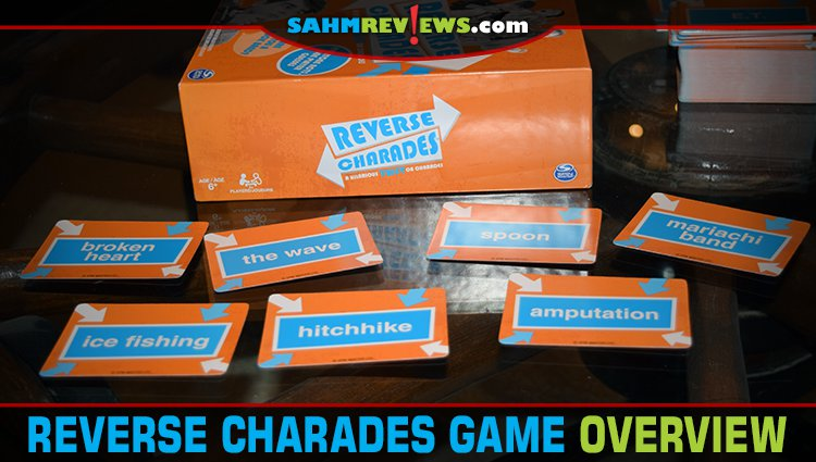 Reverse Charades Party Game Overview