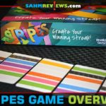 If you enjoy games that demand order, you'll love Stripes by Breaking Games. See if you can construct your line before anyone else does! - SahmReviews.com