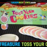 The game's name is Toss Your Cookies. Fortunately the subject matter is more literal than you might expect! It's this week's Thrift Treasure find! - SahmReviews.com