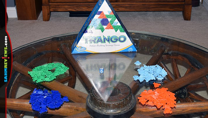 The game of Trango by ThinkFun that we found at thrift isn't the typical single-player puzzle we're accustomed to by them. This one is for up to 4 players! - SahmReviews.com