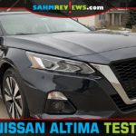 Learn about styling, space and features in this 2020 Nissan Altima test drive recap. - SahmReviews.com