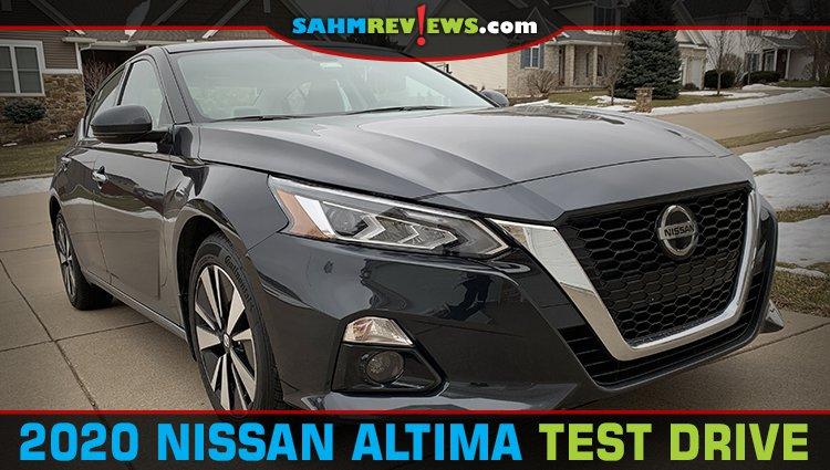 2020 Nissan Altima Test Drive