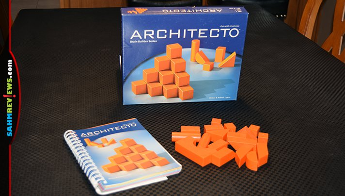 This 3-D puzzle game turned out to be part of a series and only set us back $1.88! Read more about Architecto by FoxMind- it's this week's Thrift Treasure find! - SahmReviews.com