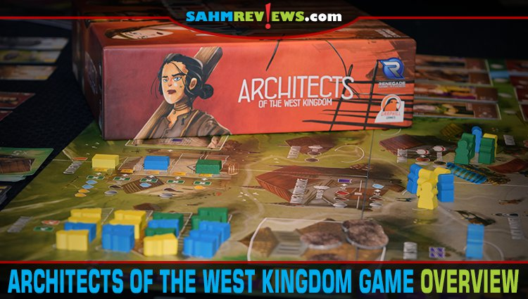 Architects of the West Kingdom Board Game Overview