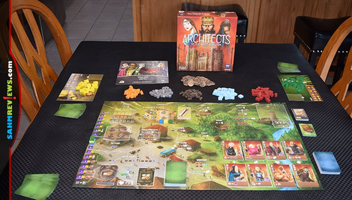 If you could build anything in your city, what would it be? We got the chance by playing Architects of the West Kingdom and even constructed a dungeon! - SahmReviews.com