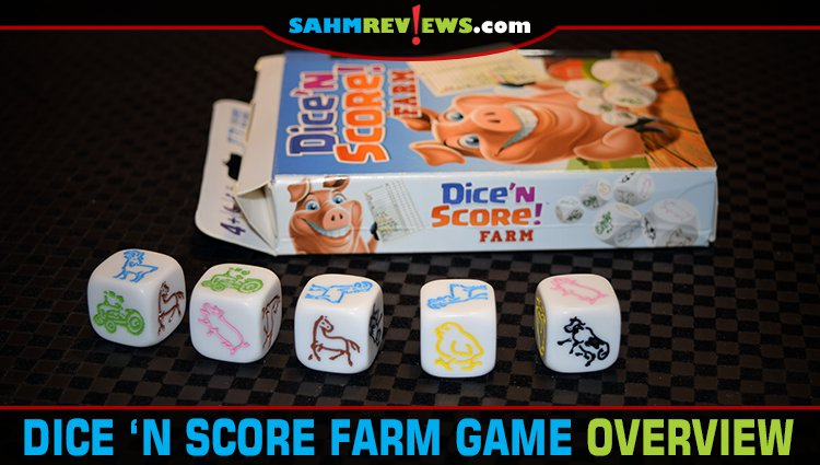 Dice 'n Score Farm Game Overview