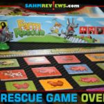 Young kids will learn teamwork skills as they try to save the farm animals from the wolf in Farm Rescue cooperative game from Brain Games Publishing. - SahmReviews.com