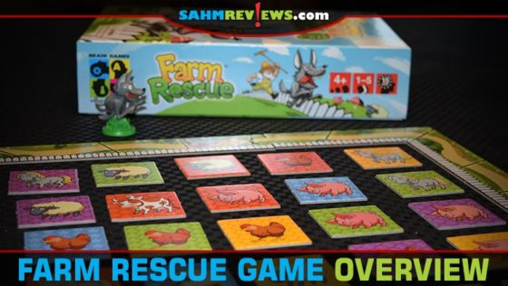 Farm Rescue Memory Game Overview