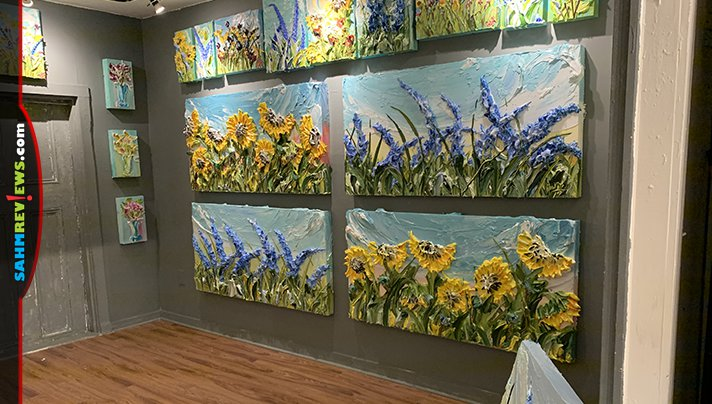 Visit Justin Gaffrey Gallery while in Walton County Florida. His unique acrylic paintings are breathtaking! - SahmReviews.com