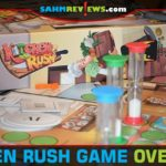 Using timers as your staff, work together to get your restaurant up and running in Kitchen Rush cooperative game from Stronghold Games. - SahmReviews.com
