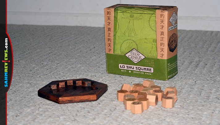 The Lo Shu Square puzzle has been around for over 2600 years, but it took until this week for us to find one at thrift! Think you're up to solving it? - SahmReviews.com