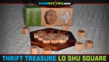 Thrift Treasure: Lo Shu Square Puzzle